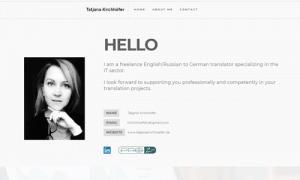 Professionelle Übersetzerin